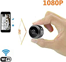 Hidden Camera Mini Spy Camera, BCXY 1080P Hidden Cam WiFi Spy Cam Small Size 150 Angle Night Version for Home Security