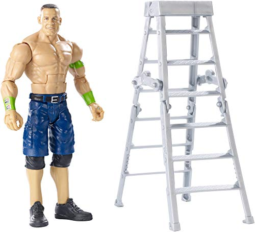 WWE Figura de acción Wrekkin, luchador John Cena, juguetes niños +6 años (Mattel GGP04) , color/modelo surtido