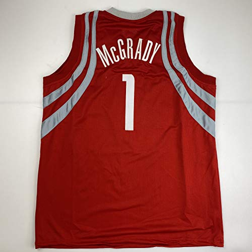 Unsigned Tracy McGrady Houston Red Custom Stitched Basketball Jersey Size Men's XL New No Brands/Logos