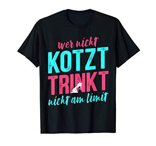 Partyurlaub Saufen Feiern Party Kotzen Bier Alkohol Spruch T-Shirt