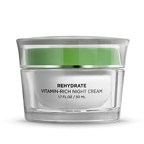 SEACRET- Minéraux de la mer Morte, Crème de nuit anti-âge réhydratante, 30 ML