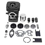 Kit de pistón de cilindro de aleación de aluminio Ladieshow para motosierra Husqvarna 235, 236,...