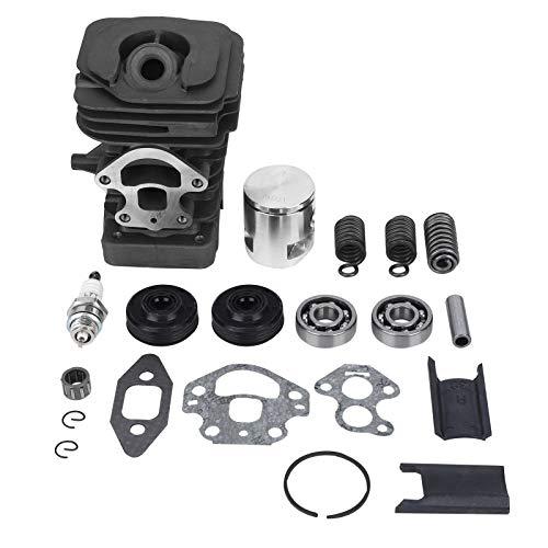 Kit de pistón de cilindro de aleación de aluminio Ladieshow para motosierra Husqvarna 235, 236, 240, 235e 236e 240e