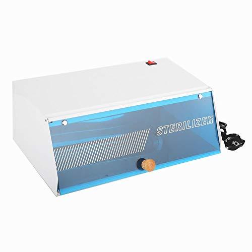 ASHATA UV-ultraviolette desinfectiekast, UV-ozonsterilisator Desinfectie Hot Heater-kast voor manicure, kappers, schoonheidsinstrumenten, voor cosmetisch gereedschap, kit, make-upborstel(EU)