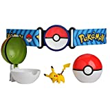 Pokémon Clip 'N' Go Poke Ball Belt Set, Comes With Poké Ball, Nest Ball and 2' Pikachu Figure