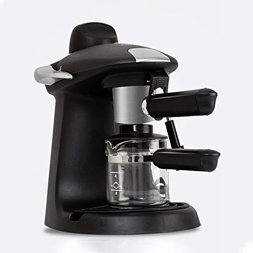 N/ A Espressomaschine 300ml 5 Bar Hochdruck-Dampfrohr eingebaute Thermostat Movable Abtropfschublade