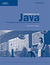 Activities Workbook for Lambert/Osborne's Fundamentals of Java: AP* Computer Science Essentials for the A & AB Exam, 3rd