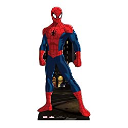 Fulfil your dreams and party with your favourite Marvel characters Friends and family can enjoy sharing the moment with their most adored Marvel characters Made of high quality durable cardboard All Marvel cardboard cutouts arrive folded for easy tra...