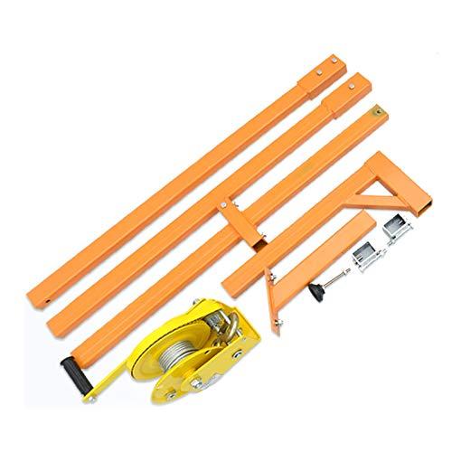 Cuerpo sintético de cuerda Manual de acero inoxidable, fuera de herramienta de elevación de la instalación, de la grúa, de plegado, de auto-bloqueo manual de cabrestante de montaje de aire acondiciona