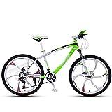 """ZL 26"""" Los Hombres y Las Mujeres Choque Bicicletas montaña Velocidad for Adultos, Bicicletas de Carreras de Ciclo al Aire y el Doble del Freno de Disco, suspensión Completa 6 Bicicletas de radios"""