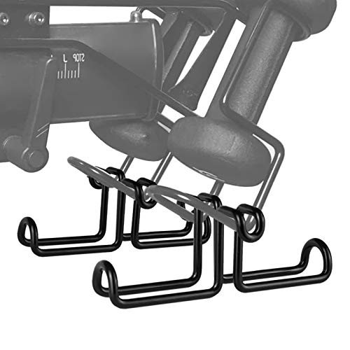 BHNOW 2-Pack Shoe Hanger Holder for Peloton Bike - Spin Bike Accessories for Peloton (Not Compatible with Bike +)