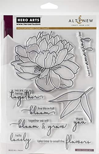 Hero Arts PR105 HA + ALTENEW BLOOM GROSS, Bloom & Grow, Einheitsgröße