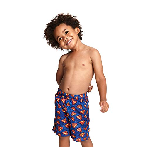 Zoggs Jungen Superman Water Shorts Badehose, Mehrfarbig, 1 Year/18-Inch