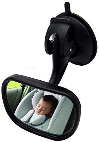 MASO Baby Car Mirror Forward View Safety Mirror Rear Facing Kids, Baby Seat & Child