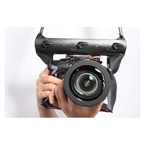 EPOWAD Accesorios de la cámara 1 UNID Camera Bolsa DE DIZO Abajo Abajo 20 M Cámara de Buceo subacuática Caja de la Caja de la Caja Bolsa Seca para Canon Nikon DSLR SLR (Color : Green L)