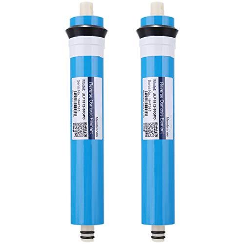 Noblik 2 StüCke ULP1812-50 Wohnen Wasser Filter 50 GPD RO Membran NSF Verwendet für Umkehr Osmose Anlage