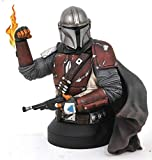 Gentle Giant Star Wars The Mandalorian MK1 1:6 Scale Mini-Bust, Multicolor