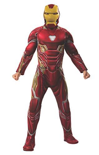 Rubie's Offizielles Avengers Endgame Iron Man luxuriöses Herrenkostüm, mehrfarbig, M