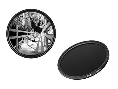 IR850 - Filtro infrarrojo (67 mm, IR 850 dHD, Filtro de Paso Digital)