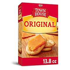 A Keebler Classic, Town House Crackers feature a variety of incredible flavors for any taste Deliciously light and buttery snack crackers great for snacking and go wonderfully with soup and salad, dips, cheese, and savory toppings Oven-baked and made...