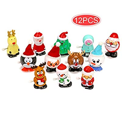 Amazon - Save 80%: 12 Pack Christmas Toys Assortment for Christmas Party Favors Gift Bag Fille…