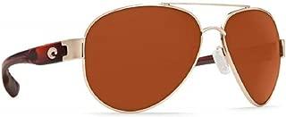 Women's South Point Polarized Aviator Sunglasses, Rose Gold w/Light Tortoise TemplesCopper 580P, 59 mm