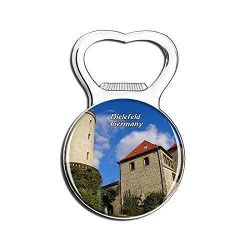 Weekino Schloss Bielefeld Sparrenburg Deutschland Bier Flaschenöffner Kühlschrank Magnet Metall Souvenir Reise Gift