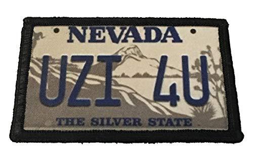 Uzi 4 U Tremors Movie Burt Gummer Morale Patch Military Tactical 2x3' Made in The USA