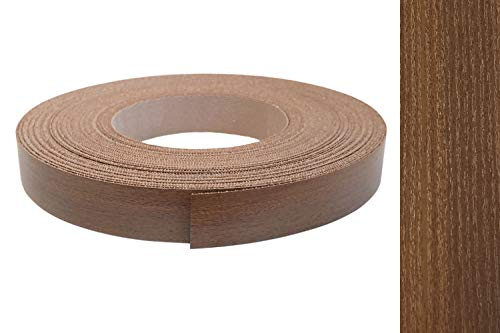 Nogal de decoración muebles de borde - bordes banda de borde con adhesivo melammina diferentes tamaños
