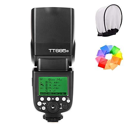 【Godox正規代理店&技適マーク付き】Godox TT685O 2.4G GN60 TTL HSS 1/8000 カメラフラッシュスピードライト オリンパス/パナソニックカメラ用