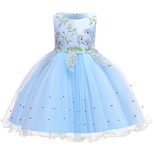 Allence Babybekleidung Baby-Mädchen Prinzessin Kleid Festzug Taufkleid Hochzeit Partykleid Mädchen Tüll Kleidung Blumenmädchenkleid
