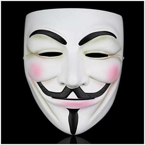 Resina Maschera di Guy Fawkes V per Vendetta a Mano di Alta qualità