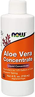 Now Foods Aloe Vera Concentrate, 4 Ounces