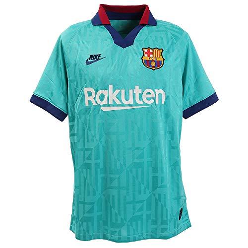 NIKE Barcelona Camiseta, Hombre, Azul (3ª Equipación), L