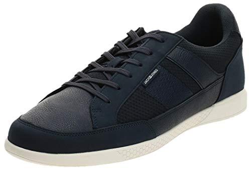 JACK & JONES Herren JFWBYSON MESH Mix STS Sneaker, Blau (Navy Blazer Navy Blazer), 44 EU