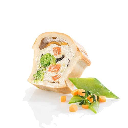 Pâté von Pute & Gemüse, mit Teigmantel, TK, 620 g