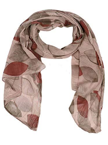 Zwillingsherz Seiden-Tuch Damen stylisches Muster - Made in Italy - Eleganter Sommer-schal - Hochwertiges Seidentuch/Seidenschal - Halstuch und Chiffon-Stola Dezent Stilvoll Gepunktet altr