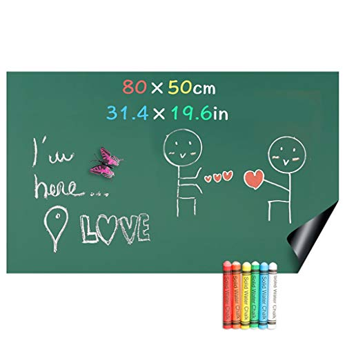 J&MY Magnetische Blackboard Krijtborden Stickers, DIY Magnetische Zachte IJzeren Office Message Muurstickers, KinderGraffiti, 60 X 100 cm