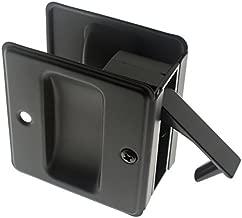 Best matte black pocket door handle Reviews