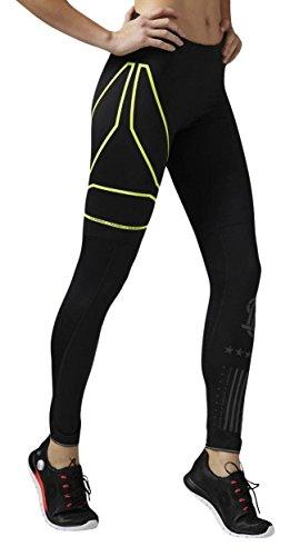 Reebok OSR Tight - Mallas para Mujer, Color Negro, Talla XS