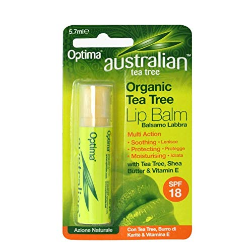Optima Naturals Australian Tea Tree - Lip Balm