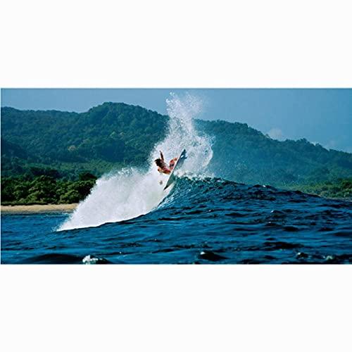 Toalla de Playa Absorbente de Microfibra para Surf, Suave y cómoda, para Hombres, Mujeres, baño Familiar, estilo-8-70x140cm