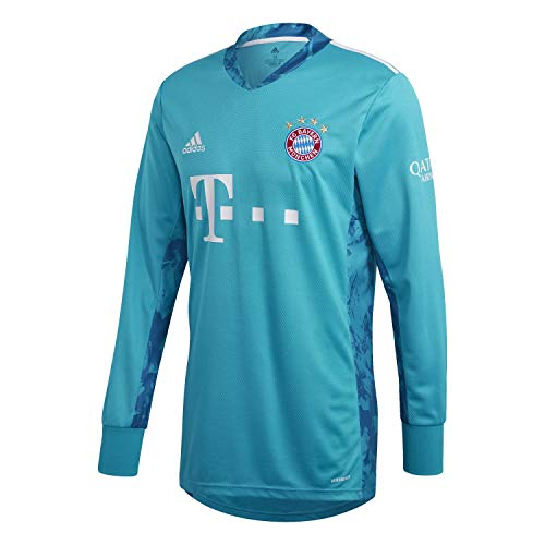 adidas Herren 20/21 FC Bayern Goalkeeper Jersey Torwarttrikot, Labgrn/White, XL