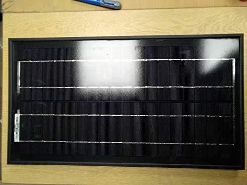 Panel solar monocristalino negro completo (20 W)