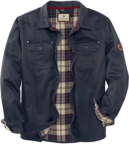Legendary Whitetails Men's Journeyman Shirt Jacket, Navy, Large