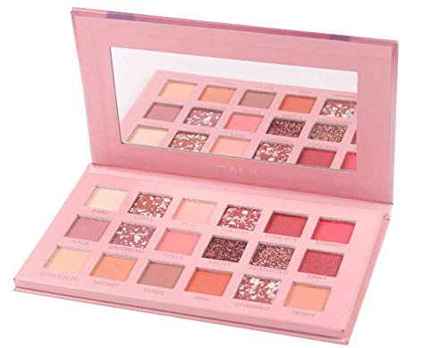 Leeharu Ombretto Palette Matte Glitter Pigmento Texture Eye Shadow Beauty