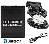 Electronicx Elec-M06-MAZ1-BT Adaptador de Radio para Coche Bluetooth USB, SD AUX MP3 CD Mazda Ford Radio Cambiador de CD