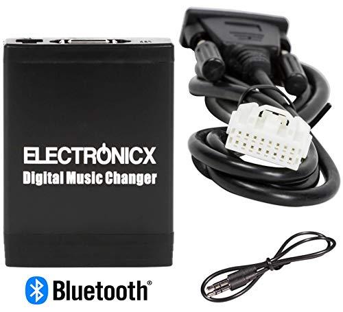 Elec-M06-MAZ1-BT Digitaler Musikadapter USB, SD, MP3 AUX Bluetooth Freisprechanlage Mazda bis 2009 Autoradio