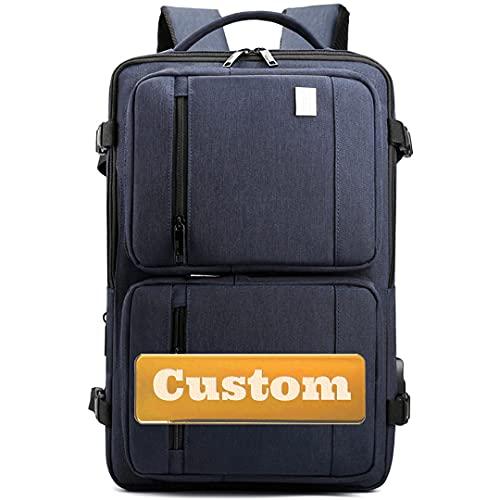 FireH Nome personalizzato Personalizzato Travel Business Backpack College Computer Zaino Computer Portatile Borsa per laptop 15.6 (Color : Shenlanse, Size : One size)