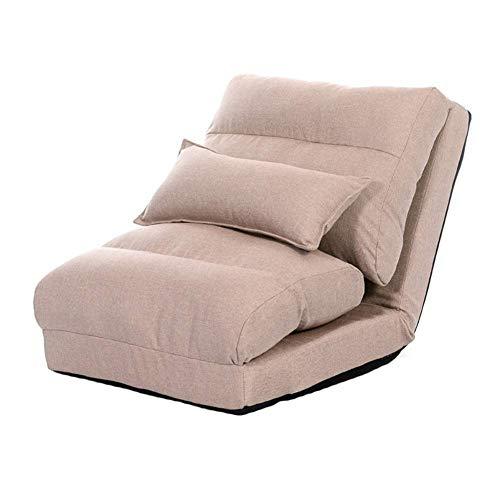 BOCbco Piso Silla perezosa del sofá sofá cama individual plegable Sofá lavable, suave y envolvente Sofá para juegos Silla meditación, 60 X 65 X 60 cm,estilo 3